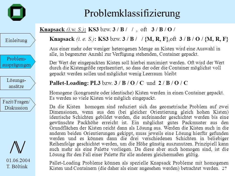 Problemklassifizierung