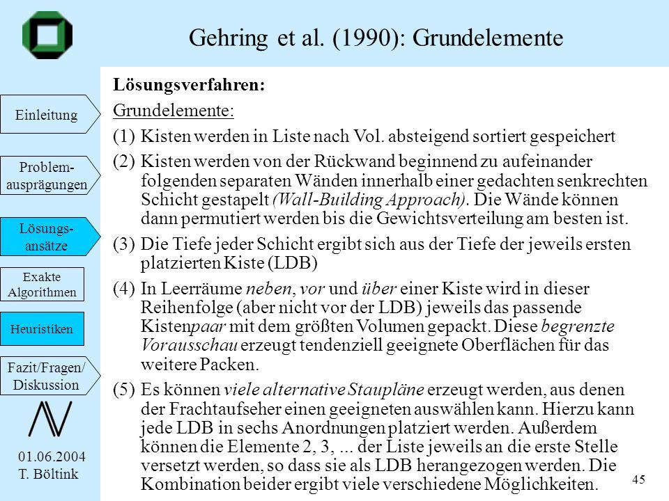 Gehring et al. (1990): Grundelemente