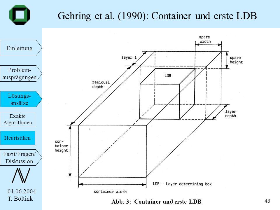 Gehring et al. (1990): Container und erste LDB