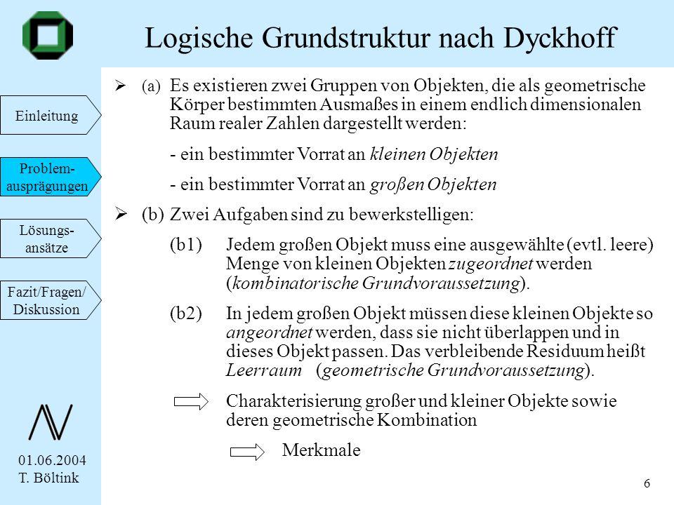 Logische Grundstruktur nach Dyckhoff