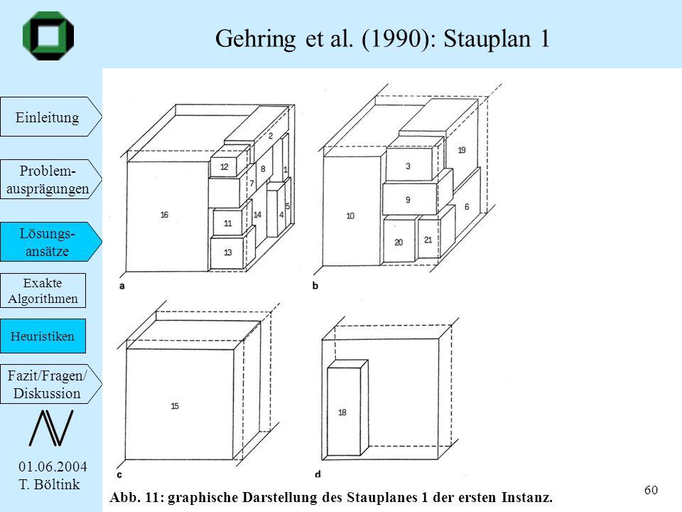 Gehring et al. (1990): Stauplan 1