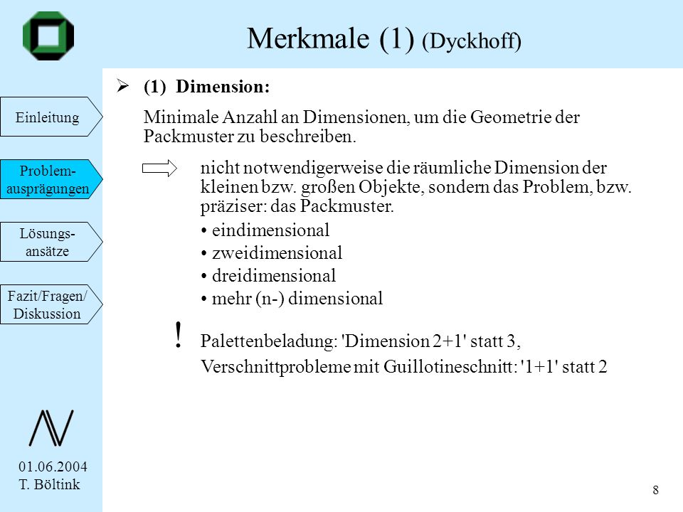 Merkmale (1) (Dyckhoff)