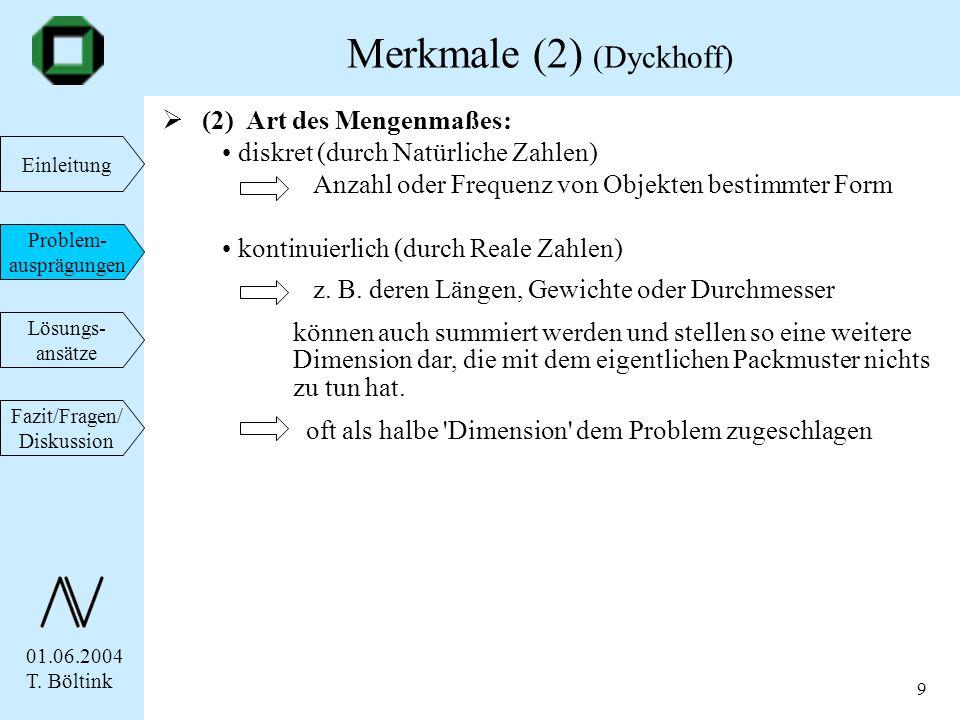 Merkmale (2) (Dyckhoff)