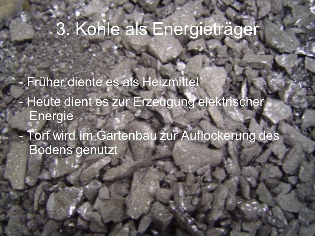 3. Kohle als Energieträger