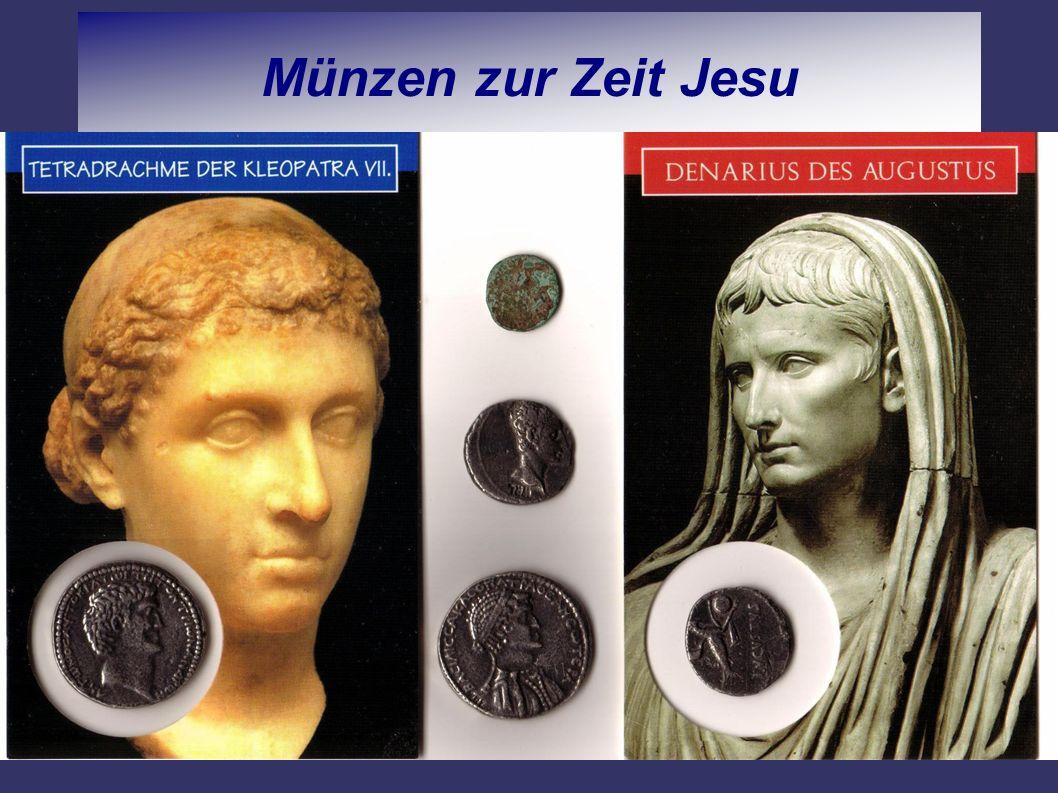Münzen zur Zeit Jesu