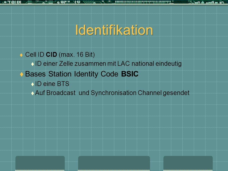 Identifikation Bases Station Identity Code BSIC