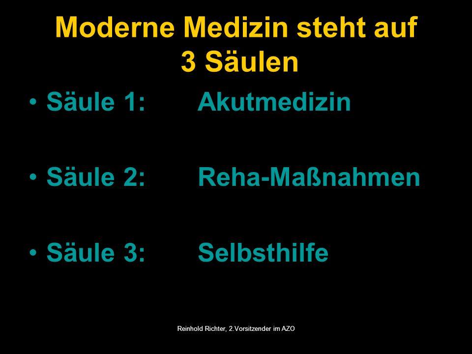 Moderne Medizin steht auf 3 Säulen