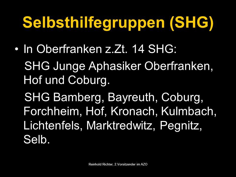 Selbsthilfegruppen (SHG)