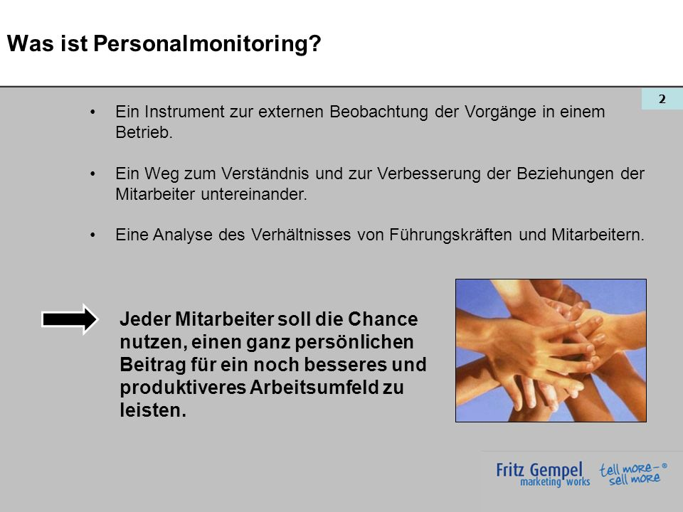 Was ist Personalmonitoring