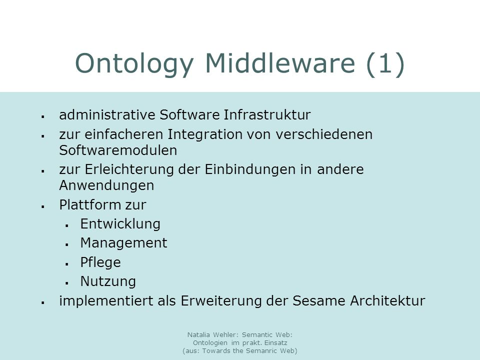 Ontology Middleware (1)