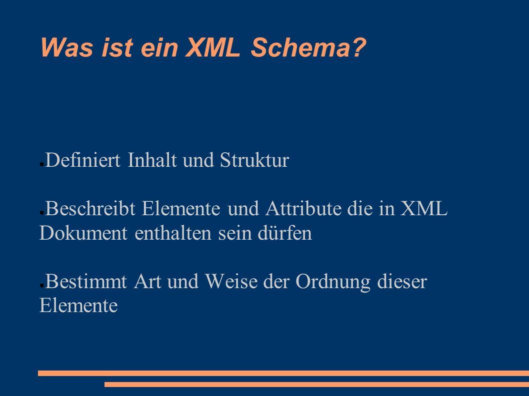 Was versteht man unter XML Schema? - ppt video online herunterladen