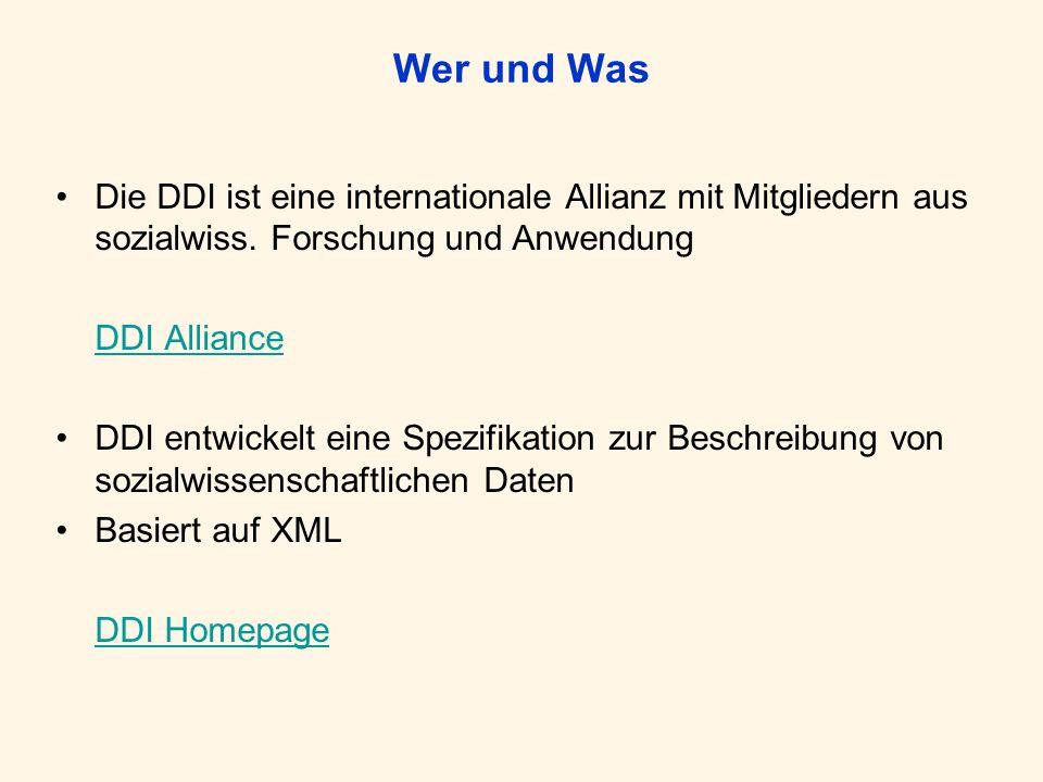 Wer und WasDie DDI ist eine internationale Allianz mit Mitgliedern aus sozialwiss. Forschung und Anwendung.