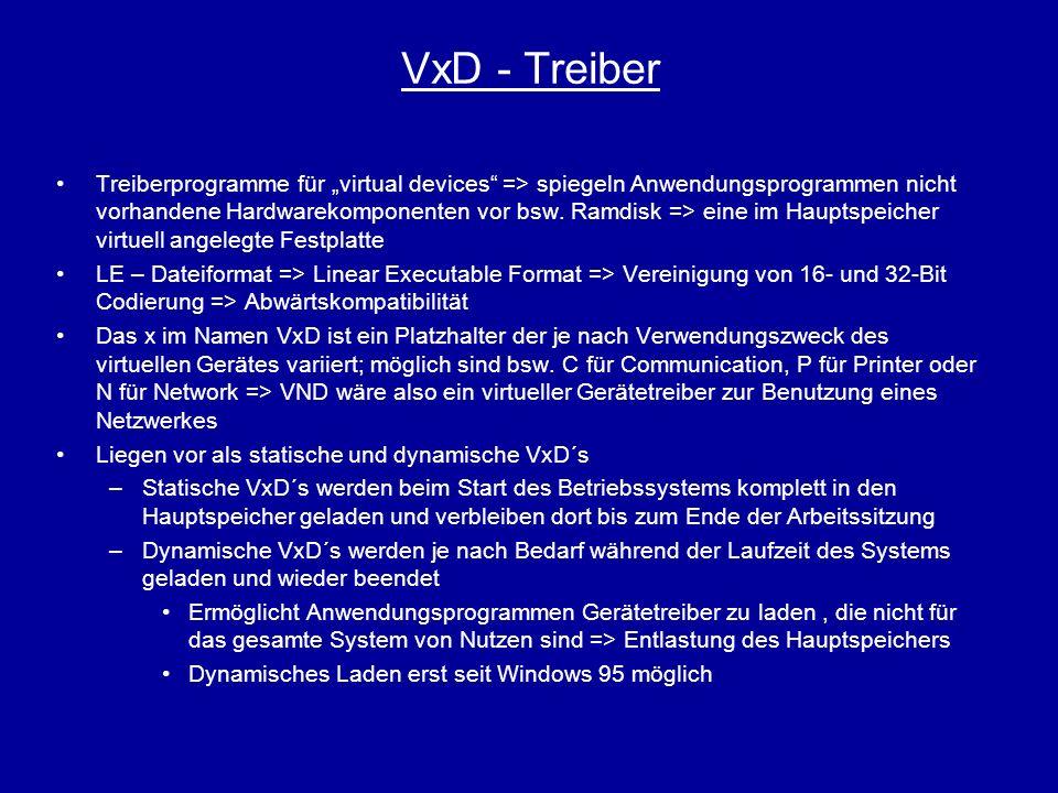VxD - Treiber