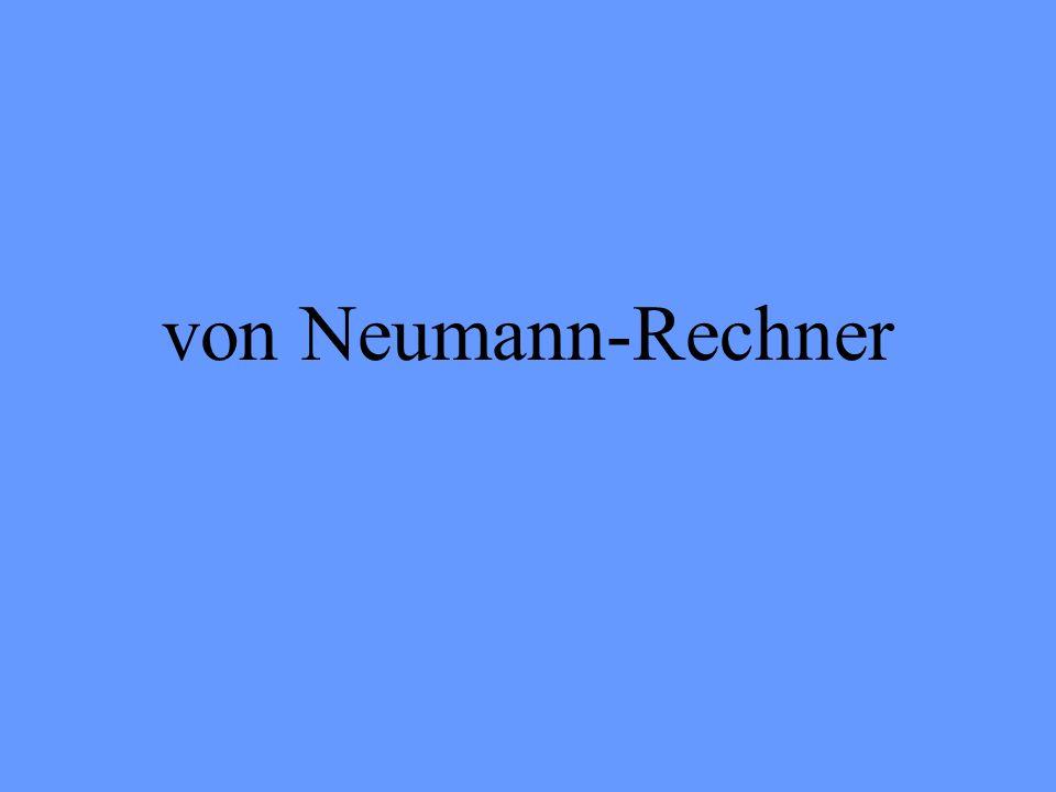 von Neumann-Rechner