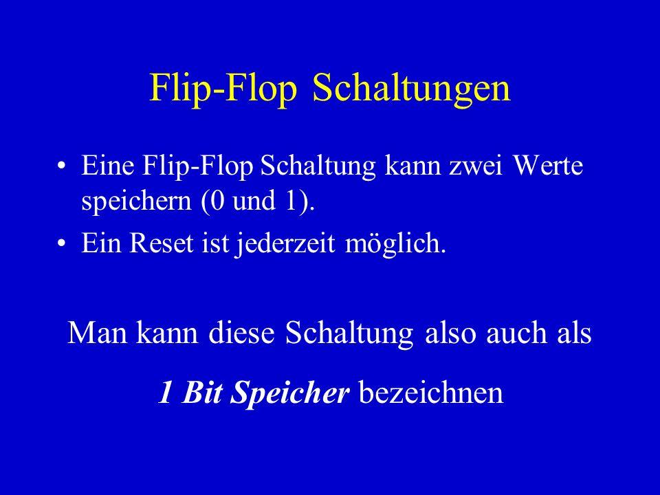 Flip-Flop Schaltungen