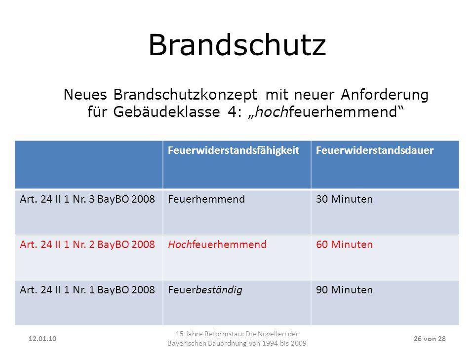 """Brandschutz Neues Brandschutzkonzept mit neuer Anforderung für Gebäudeklasse 4: """"hochfeuerhemmend"""