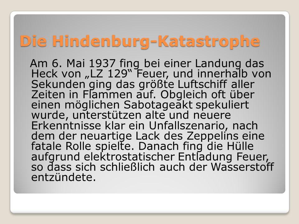 Die Hindenburg-Katastrophe