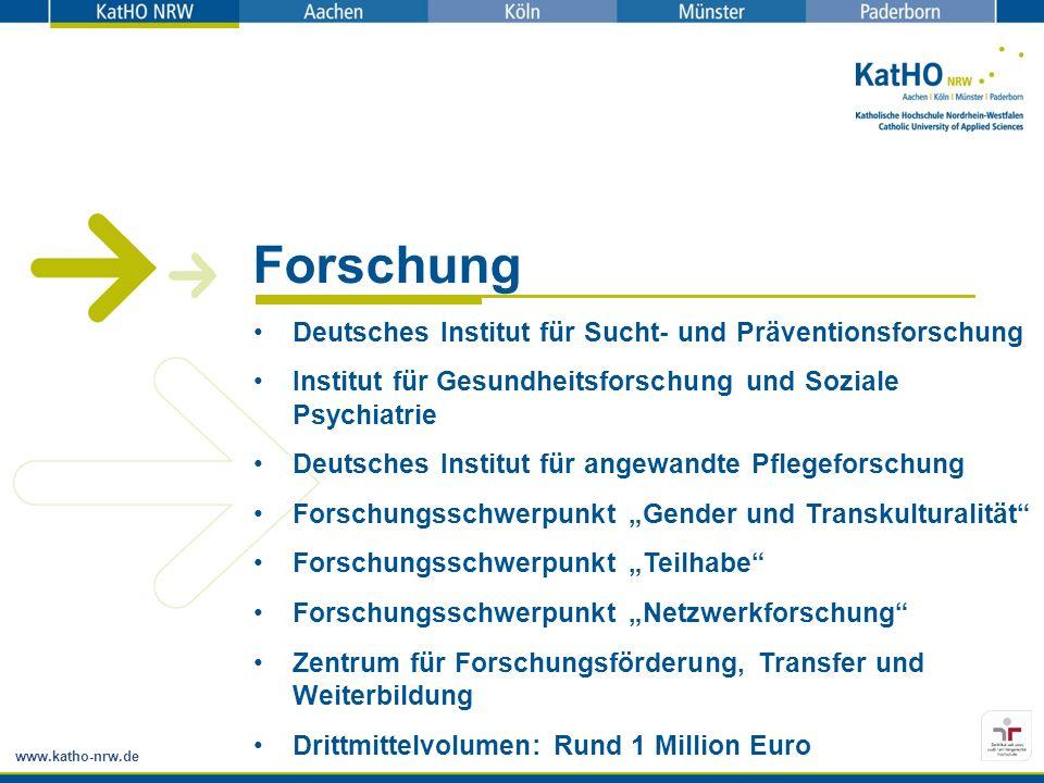 Forschung Deutsches Institut für Sucht- und Präventionsforschung