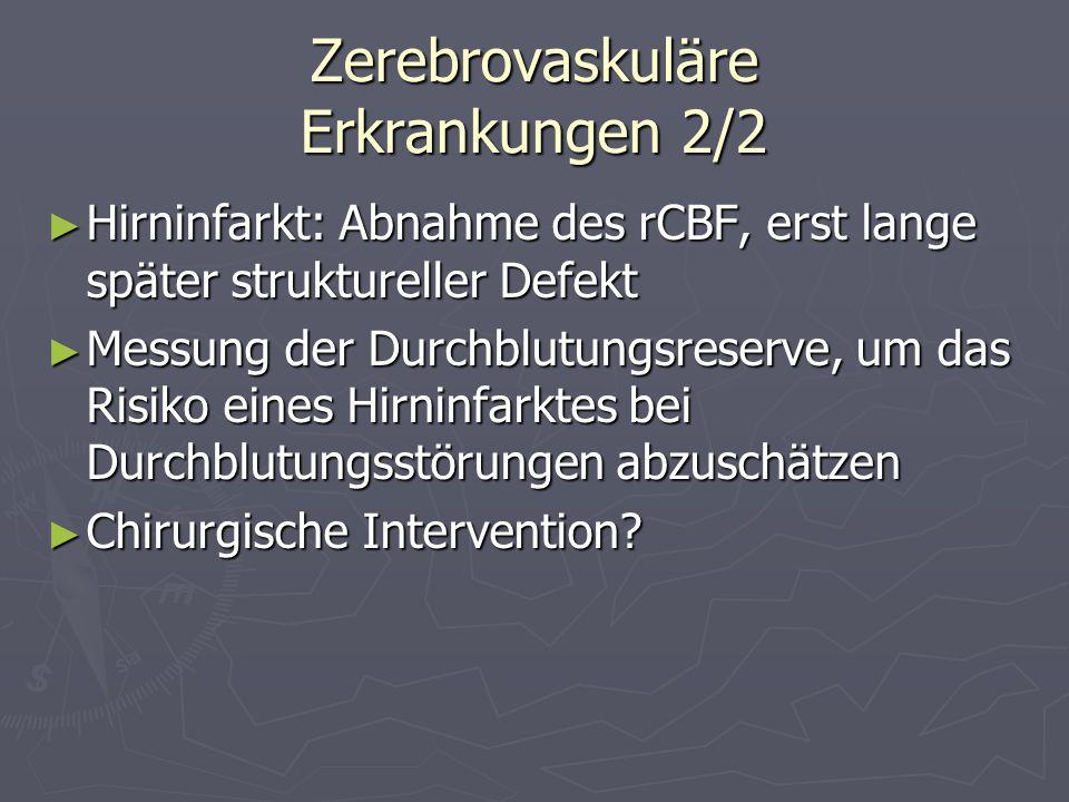 Zerebrovaskuläre Erkrankungen 2/2