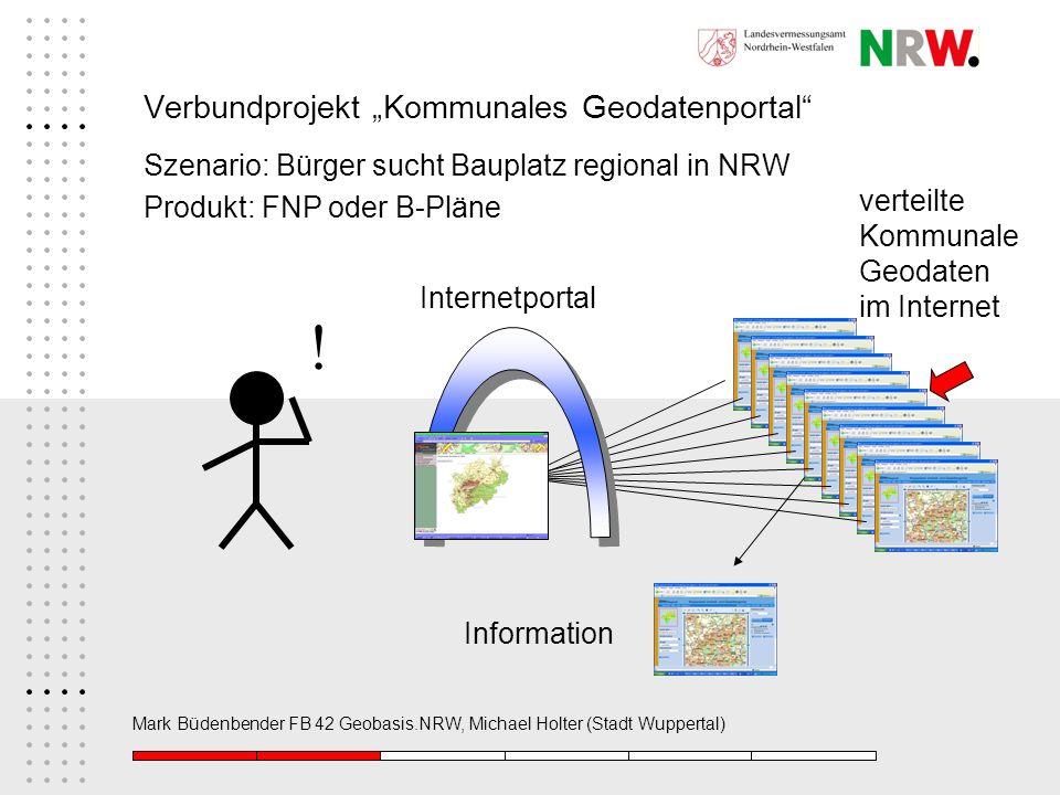 """Verbundprojekt """"Kommunales Geodatenportal"""