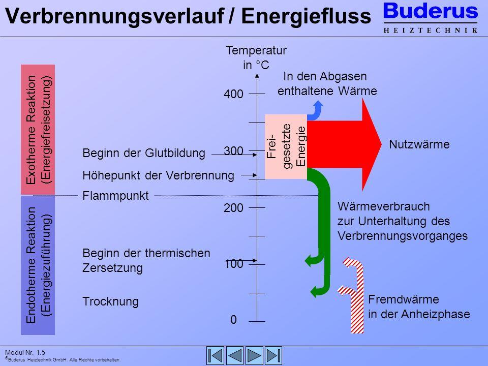 Verbrennungsverlauf / Energiefluss