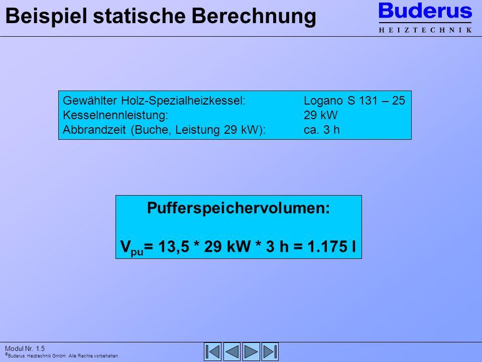 Beispiel statische Berechnung