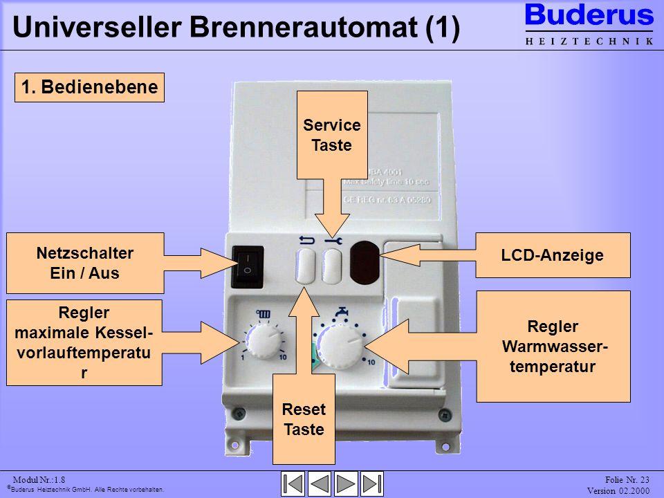 Universeller Brennerautomat (1)