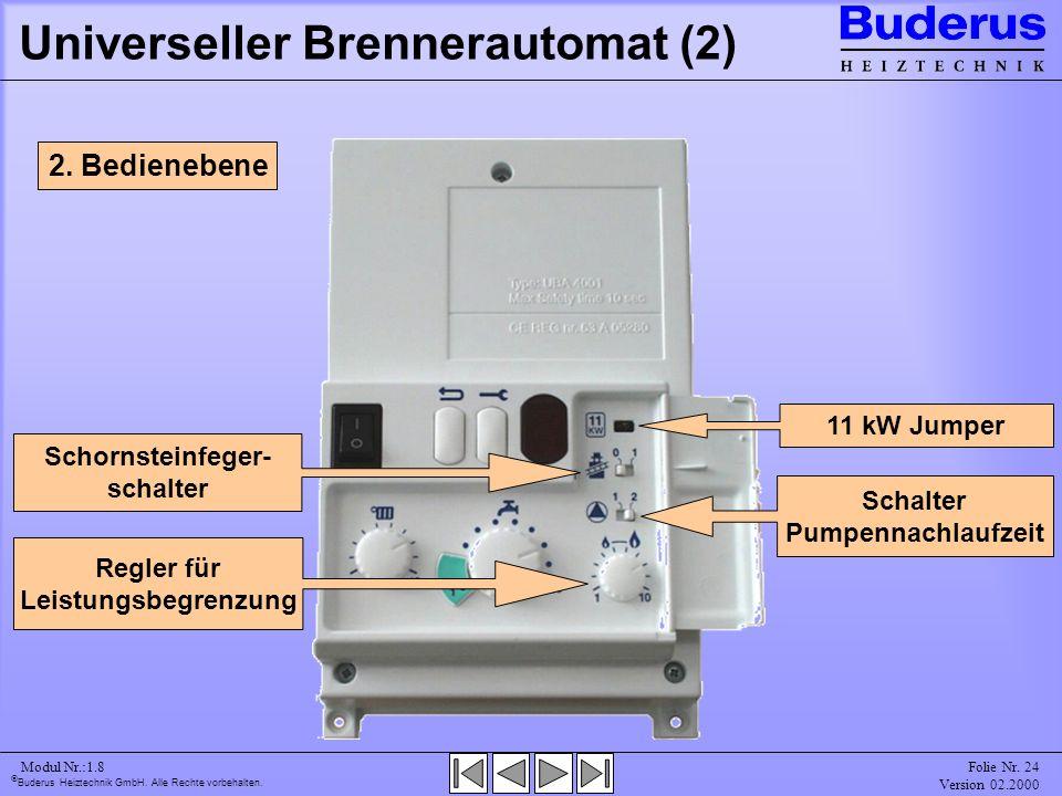 Universeller Brennerautomat (2)