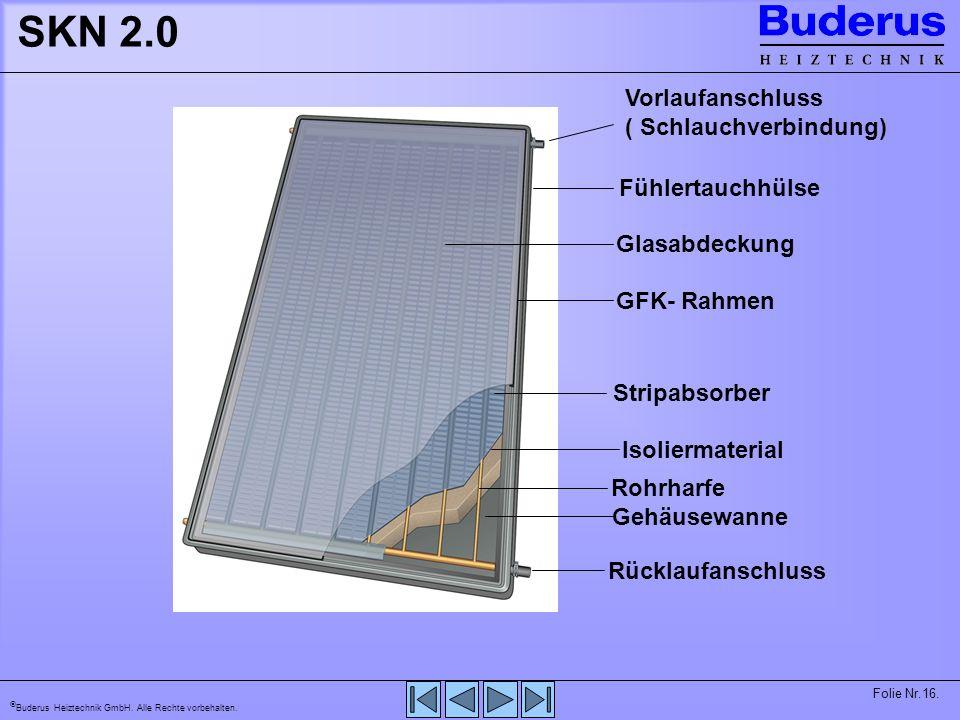 SKN 2.0 Vorlaufanschluss ( Schlauchverbindung) Fühlertauchhülse