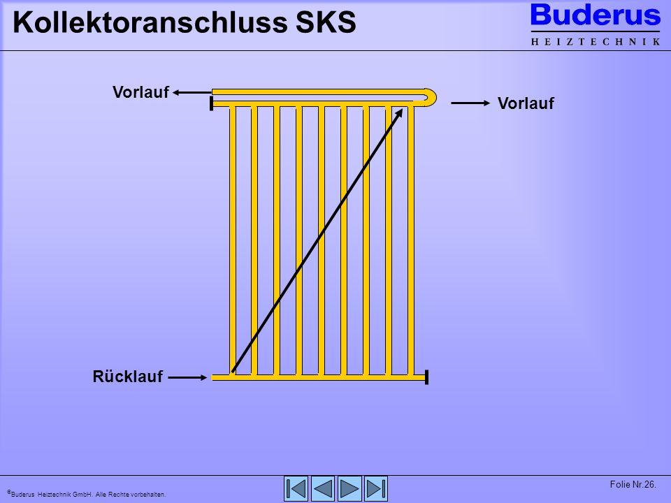 Kollektoranschluss SKS