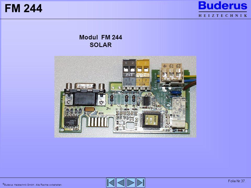 FM 244 Modul FM 244. SOLAR.