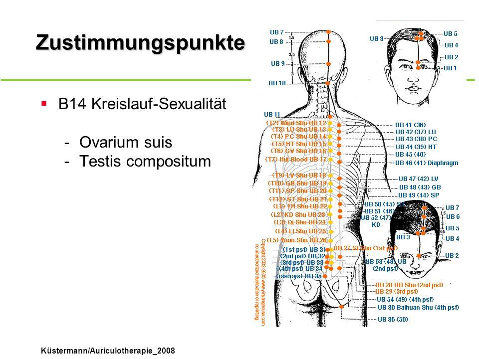 Zustimmungspunkte B14 Kreislauf-Sexualität Ovarium suis