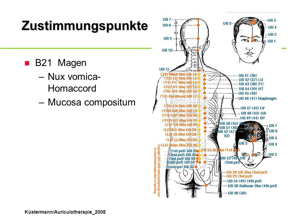 Zustimmungspunkte B21 Magen Nux vomica-Homaccord Mucosa compositum