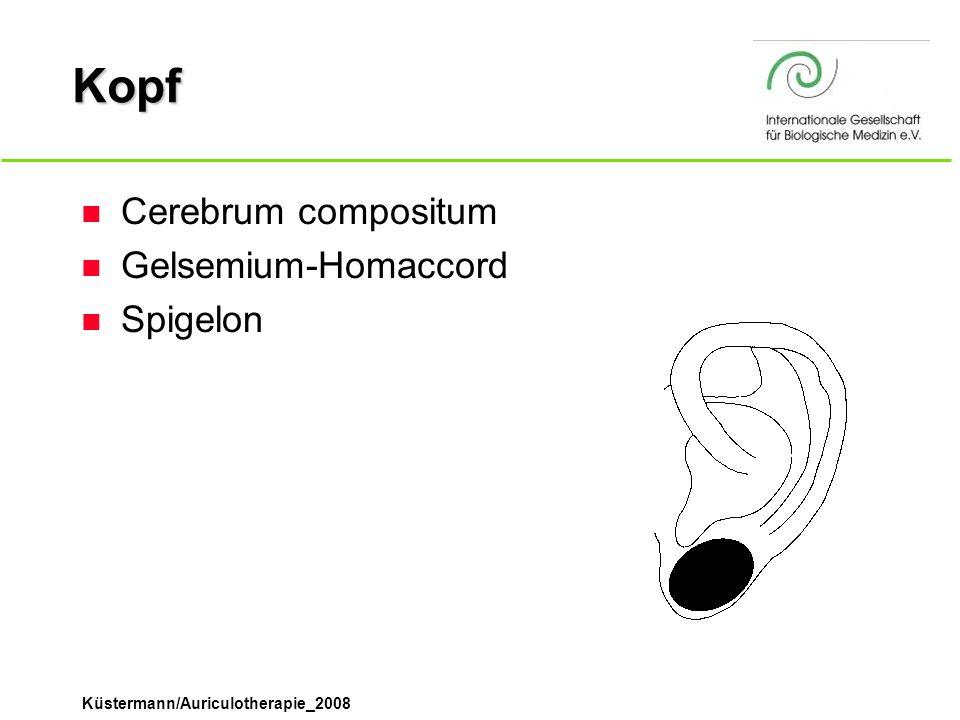 Kopf Cerebrum compositum Gelsemium-Homaccord Spigelon