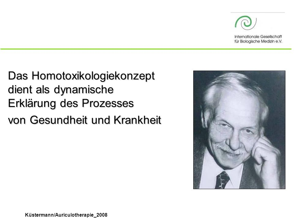 Das Homotoxikologiekonzept dient als dynamische Erklärung des Prozesses von Gesundheit und Krankheit