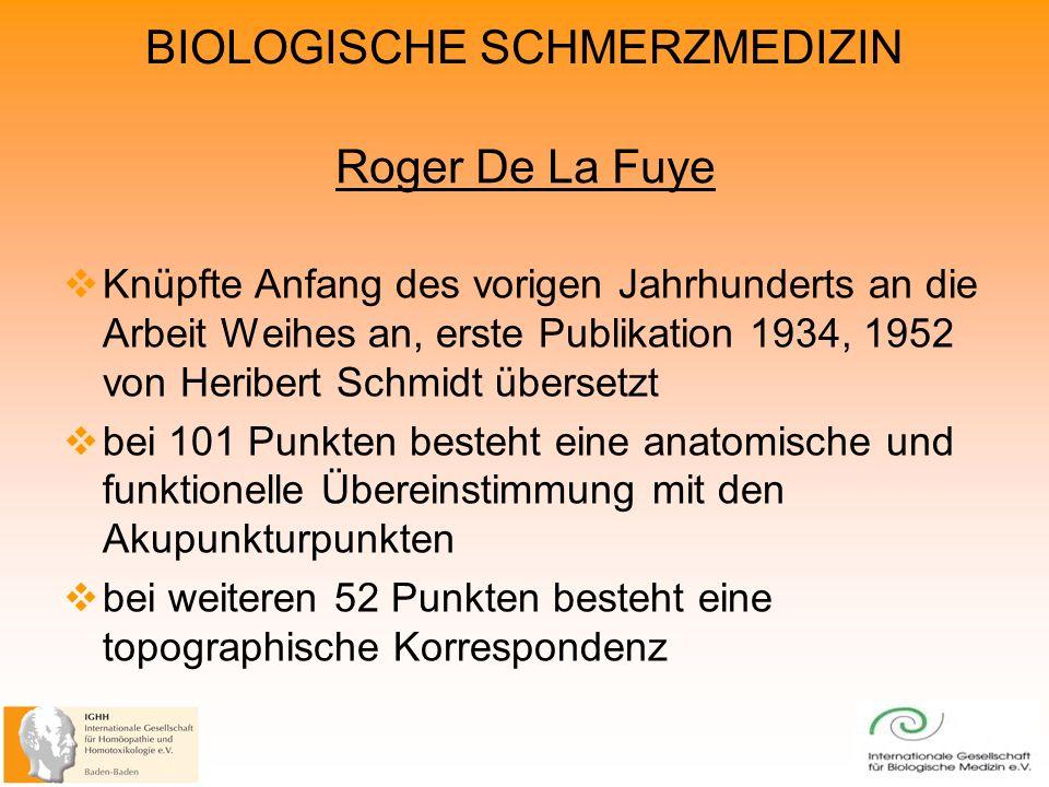 Roger De La Fuye Knüpfte Anfang des vorigen Jahrhunderts an die Arbeit Weihes an, erste Publikation 1934, 1952 von Heribert Schmidt übersetzt.