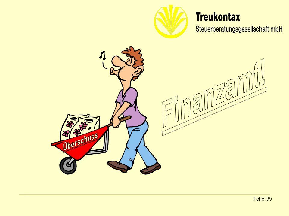 Finanzamt! Überschuss