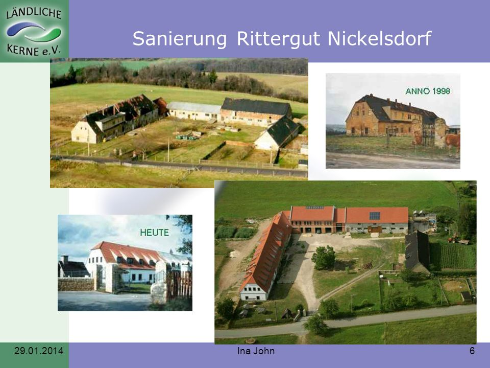 Sanierung Rittergut Nickelsdorf