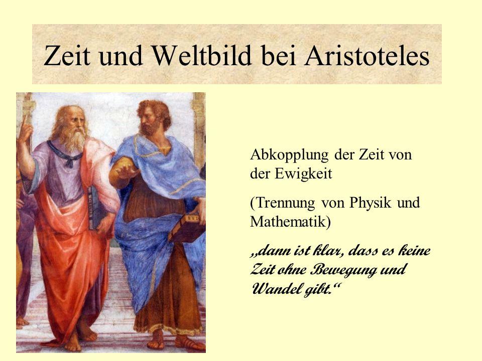 Zeit und Weltbild bei Aristoteles