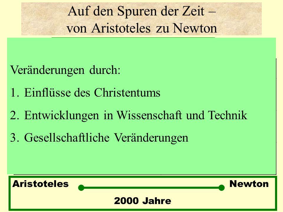 Auf den Spuren der Zeit – von Aristoteles zu Newton