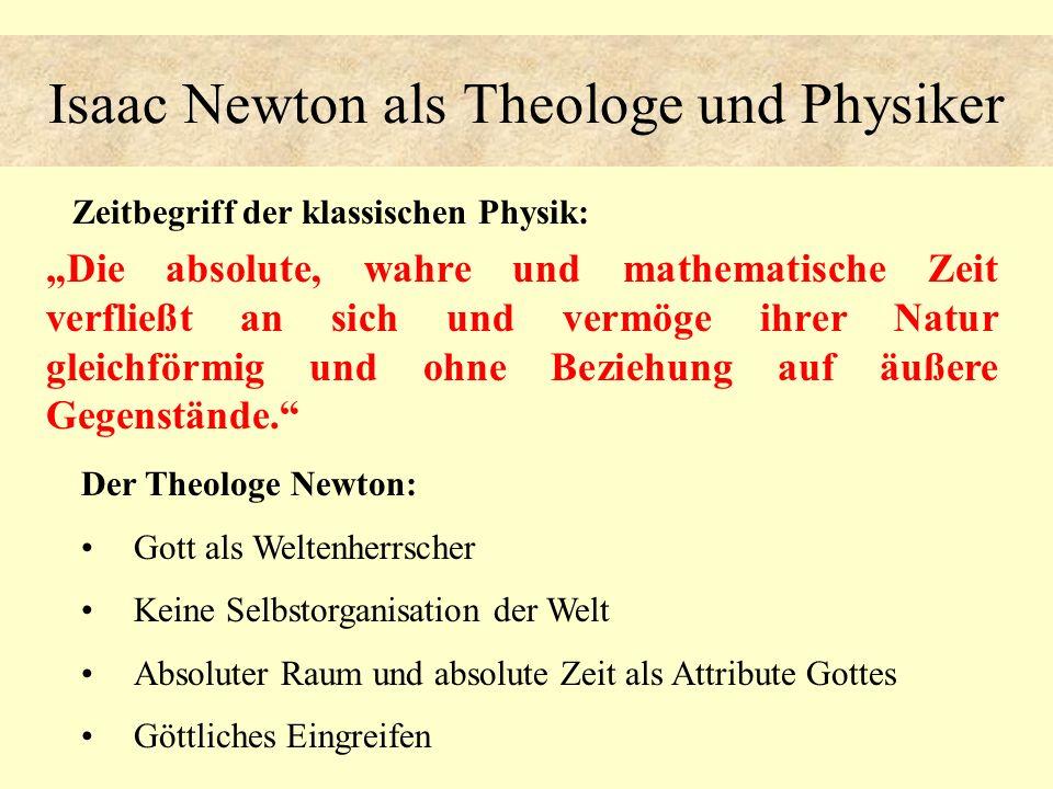 Isaac Newton als Theologe und Physiker