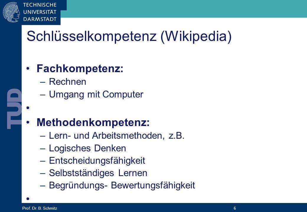 Schlüsselkompetenz (Wikipedia)