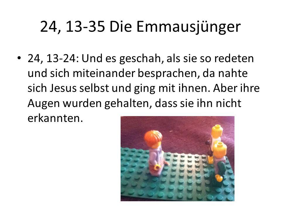 24, 13-35 Die Emmausjünger