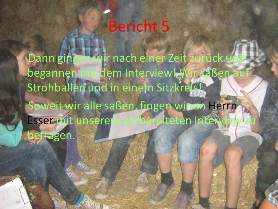 Bericht 5