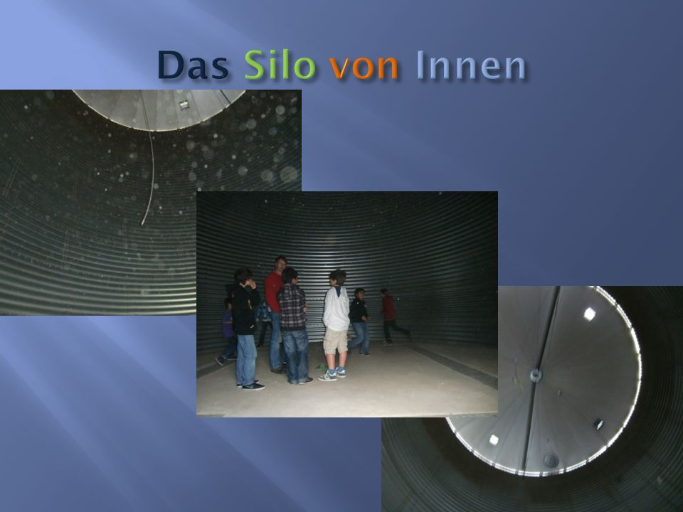 Das Silo von Innen
