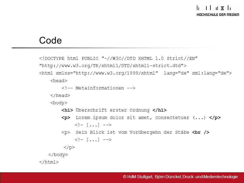 Code <!DOCTYPE html PUBLIC -//W3C//DTD XHTML 1.0 Strict//EN