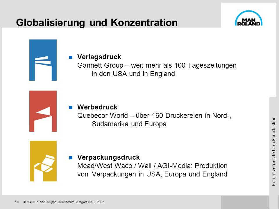 Globalisierung und Konzentration