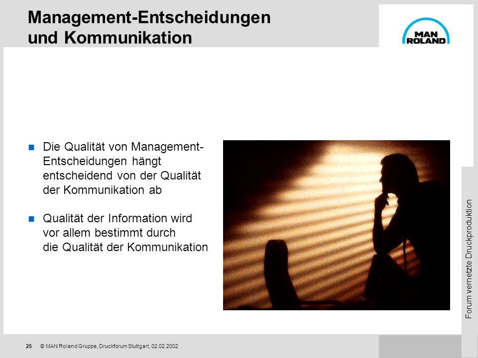 Management-Entscheidungen und Kommunikation