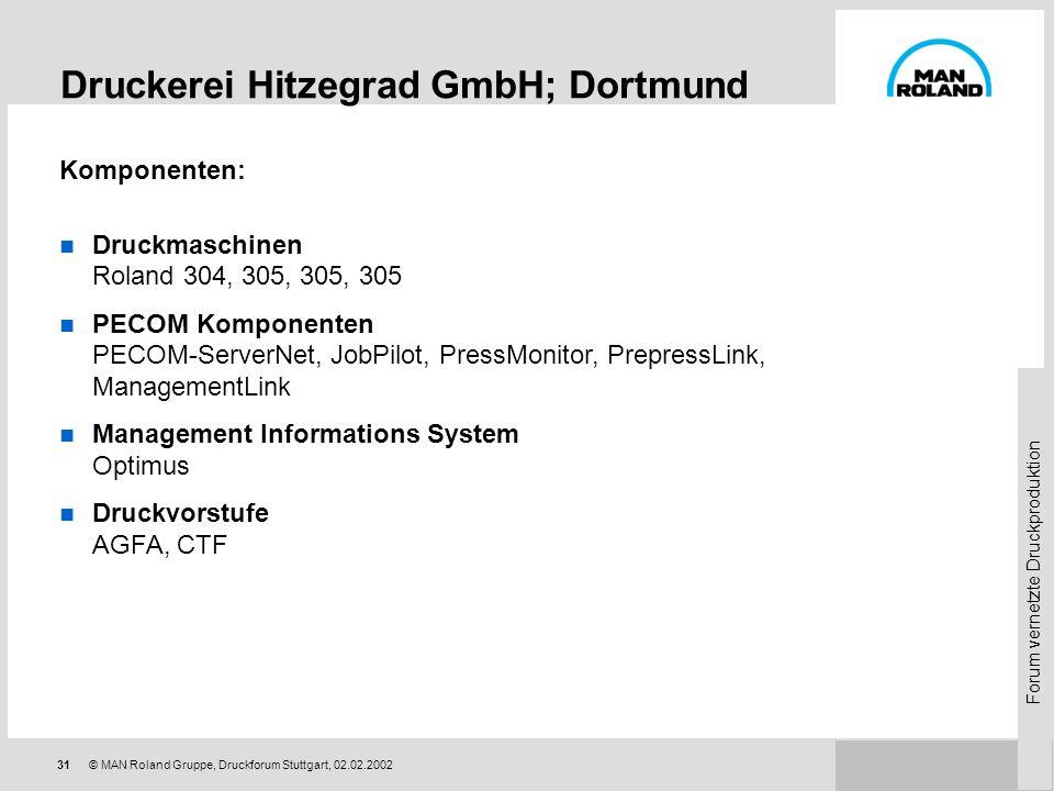 Druckerei Hitzegrad GmbH; Dortmund