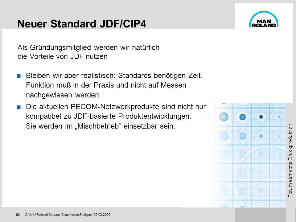 Neuer Standard JDF/CIP4